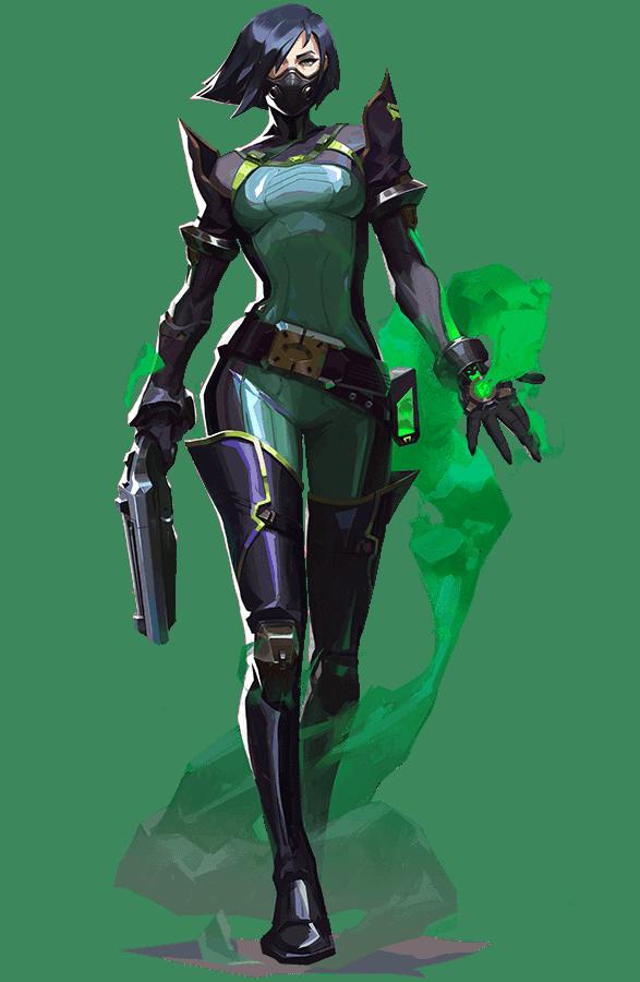 شرح شخصية Viper من لعبة الفيديو فالورانت