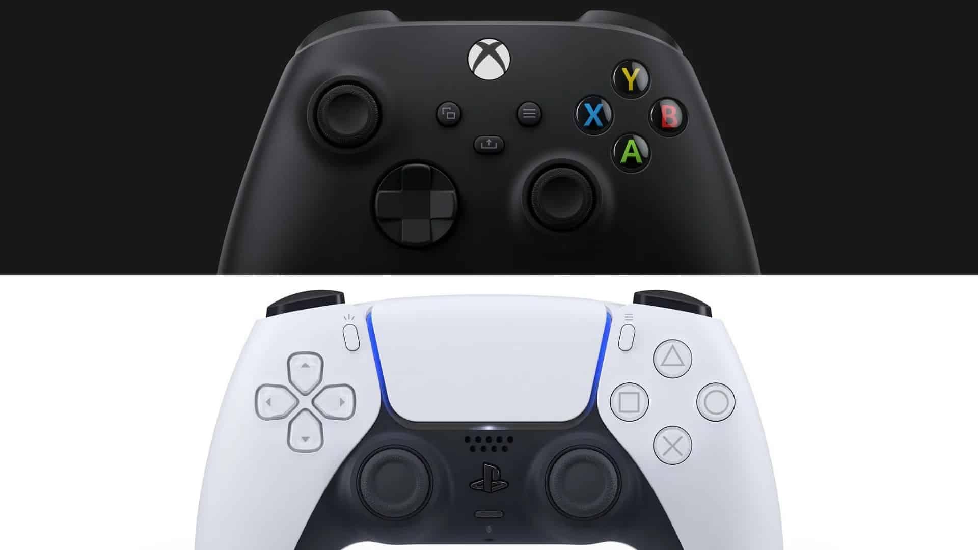 مقارنة بين ذراع تحكم اكس بوكس سيريس اكس و DualSense بلايستيشن 5